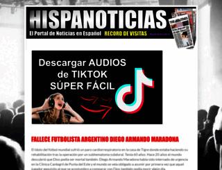 hispanoticias.blogspot.com.ar screenshot