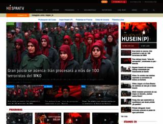 hispantv.com screenshot