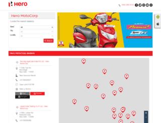 hispeedhero.heromotocorpdealers.com screenshot