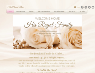 hisroyalfamily.com screenshot