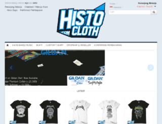 histocloth.com screenshot