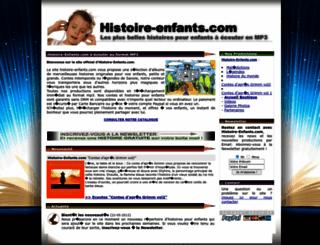 histoire-enfants.com screenshot