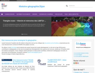histoire-geographie.ac-dijon.fr screenshot