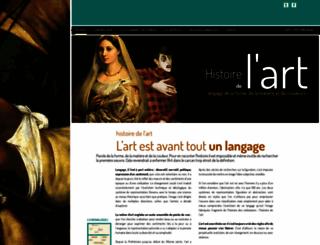 histoiredelart.net screenshot