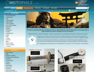 histophile.com screenshot