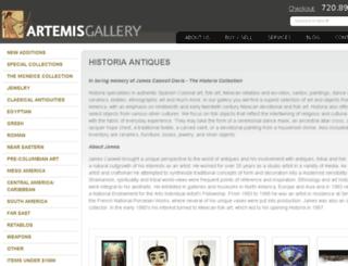 historia-antiques.com screenshot