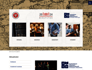 historia.uwb.edu.pl screenshot