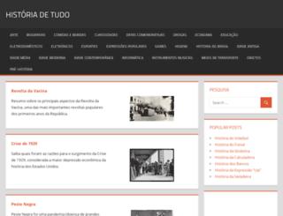 historiadetudo.com screenshot