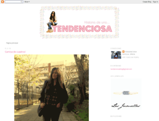 historiadeunatendenciosa.blogspot.com screenshot