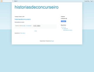 historiasdeconcurseiro.blogspot.com screenshot