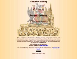 historiccoventry.co.uk screenshot