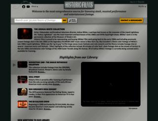 historicfilms.com screenshot