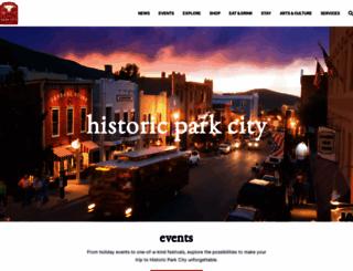 historicparkcityutah.com screenshot