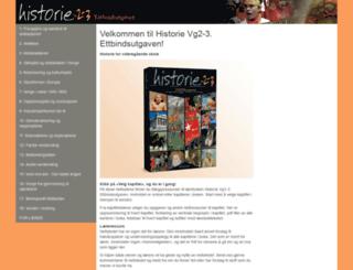 historievg3.cappelen.no screenshot
