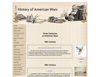 history-of-american-wars.com screenshot