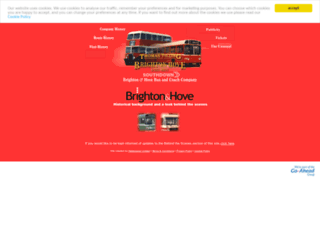 history.buses.co.uk screenshot