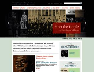 history.house.gov screenshot