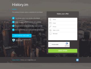 history.im screenshot