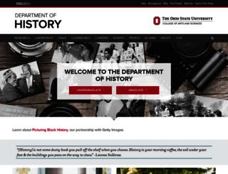 history.osu.edu screenshot