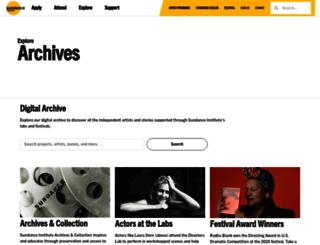 history.sundance.org screenshot