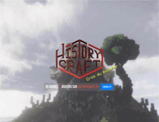 historycraft.fr screenshot