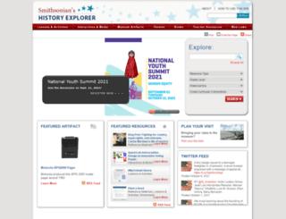 historyexplorer.si.edu screenshot