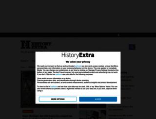 historyextra.com screenshot