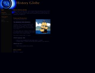 historyglobe.com screenshot