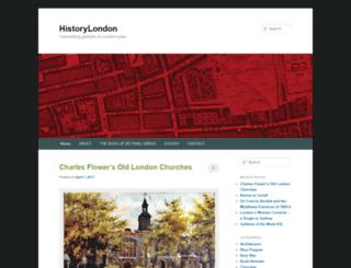 historylondon.org screenshot