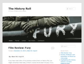 historyroll.com screenshot