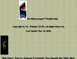 historyscoper.com screenshot