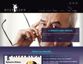 histrion.hr screenshot