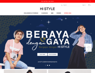 histyle.com.my screenshot