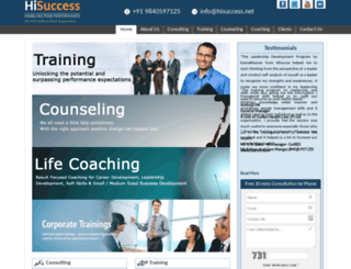 hisuccess.net screenshot