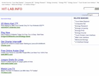 hit-lab.info screenshot