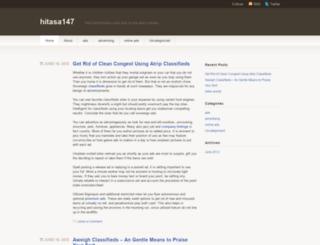 hitasa147.wordpress.com screenshot