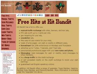 hitbandit.com screenshot