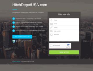 hitchdepotusa.com screenshot