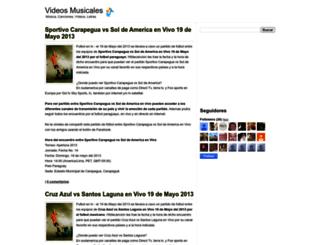 hitdecancion.blogspot.com screenshot