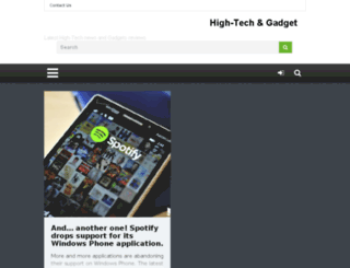 hitech-gadget.com screenshot