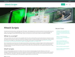 hitech-scripts.com screenshot