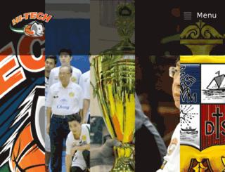 hitechbasketballclub.com screenshot