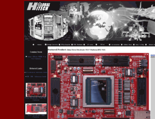 hitechglobal.com screenshot