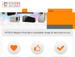 hitechhomeappliance.com screenshot