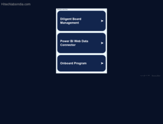 hitechlabsindia.com screenshot