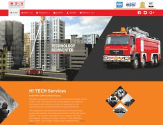 hitechspv.com screenshot