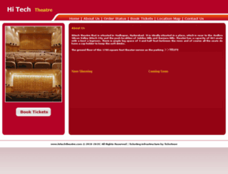 hitechtheatre.com screenshot