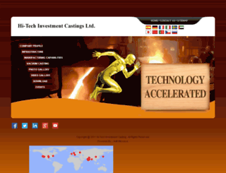 hitecind.com screenshot