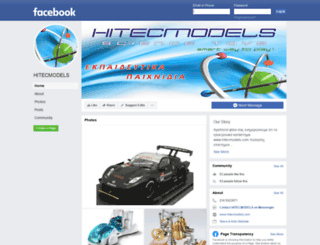 hitecmodels.com screenshot
