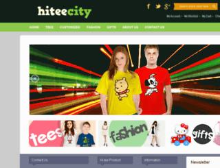 hiteecity.com screenshot